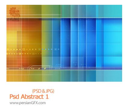دانلود تصویر لایه باز بک گراند انتزاعی - Psd Abstract 01