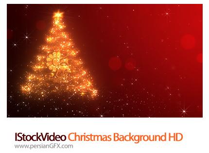 دانلود فایل آماده ویدئوی، بک گراند کریسمس - IStockVideo Christmas Background HD