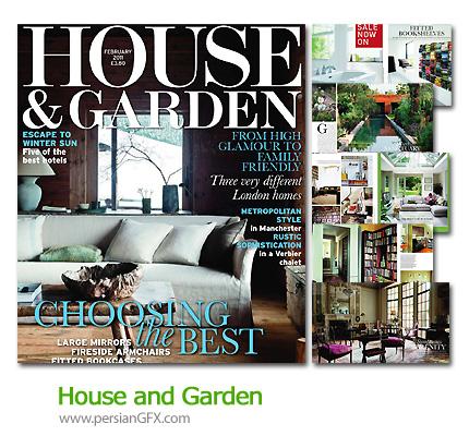 مجله طراحی دکوراسیون خانه و باغ - House and Garden