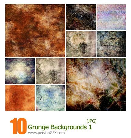 دانلود بافت کثیف، بک گراند کثیف - Grunge Backgrounds 01