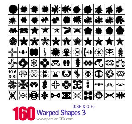 دانلود اشکال منحنی و پیچان شماره سه 160 - Warped Shapes 03