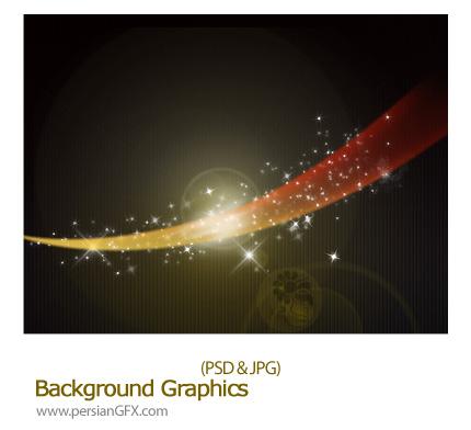 دانلود تصویر لایه باز بک گراند گرافیکی - Background Graphics