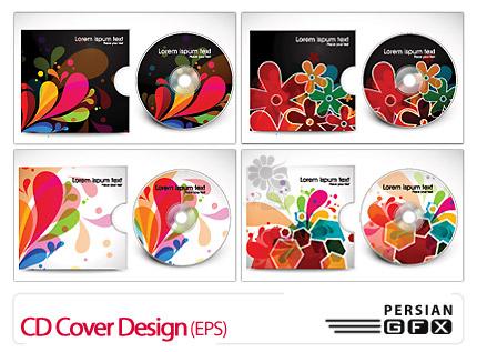 دانلود طراحی جلد سیدی - CD Cover Design
