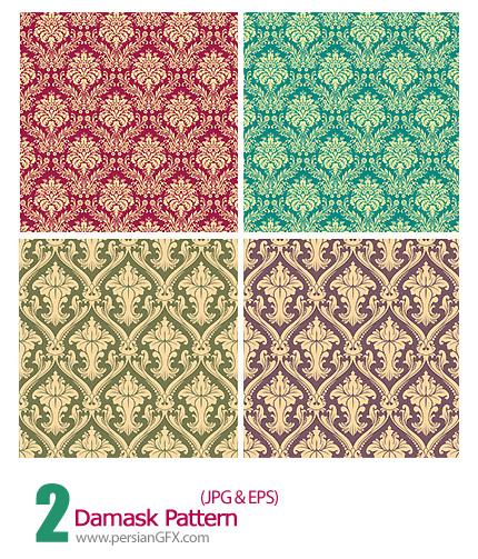 دانلود پترن های گل دار - Damask Pattern