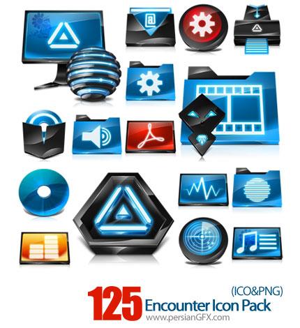 دانلود آیکون های متنوع کامپیوتر - Encounter Icon Pack
