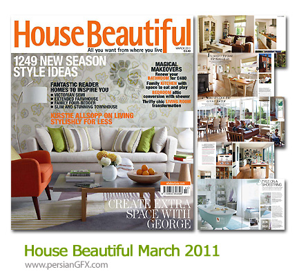       - House Beautiful March 2011  