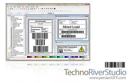 دانلود TechnoRiverStudio Pro 7.0.1675 - نرم افزار ایجاد و چاپ label