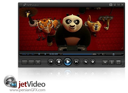 دانلود jetVideo 8.0.1.100 VX - نرم افزار پخش و مبدل فایل های ویدئویی