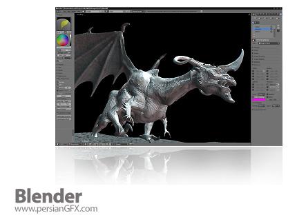 دانلود Blender 2.58a - نرم افزار تولید متن و تصویر 3 بعدی