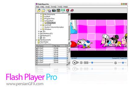 دانلود Flash Player Pro 4.9 - نرم افزار پخش و مدیریت فایل های فلش