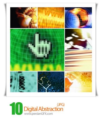 دانلود تصاویر بک گراند انتزاعی دیجیتال - Digital Abstraction