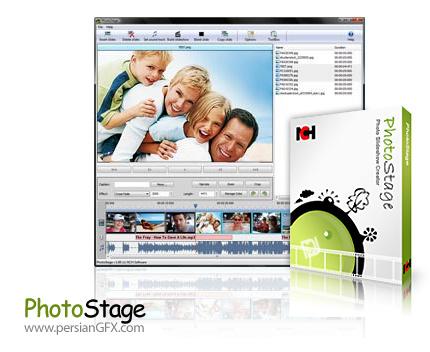 دانلود نرم افزار ساخت اسلایدشو - NCH PhotoStage Slideshow Producer Professional v5.02