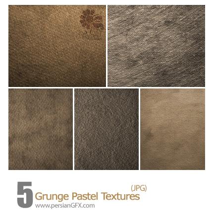 دانلود بافت کثیف پاستل - Grunge Pastel Textures