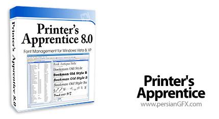 دانلود Printers Apprentice 8.1.9.10 - نرم افزار مدیریت فونت ها