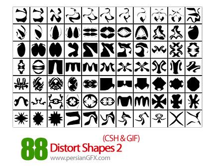 دانلود اشکال انتزاعی شماره دو 88 - Distort Shapes 02