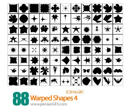 دانلود اشکال منحنی و پیچان شماره چهار 88 - Warped Shapes 04