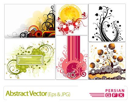 دانلود وکتورهای انتزاعی - Abstract Vector