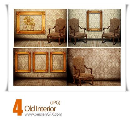 دانلود تصاویر مبلمان و فریم قدیمی - Old Interior