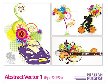 دانلود وکتورهای انتزاعی - 01 Abstract Vector