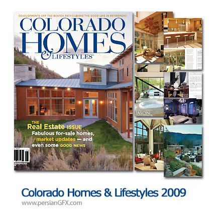 دانلود مجله طراحی دکوراسیون، طراحی داخلی و خارجی - Colorado Homes & Lifestyles 2009