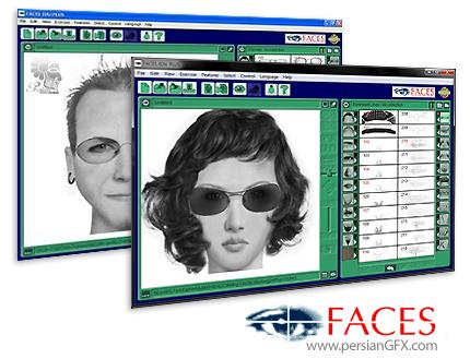 دانلود نرم افزار چهره نگاری - FBI Faces 4.0