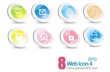 دانلود آیکون های وب - Web Icons 04