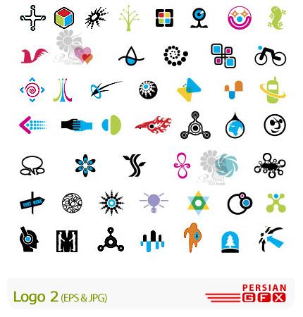 دانلود لوگو های وکتور متنوع و مدرن - Logo 02