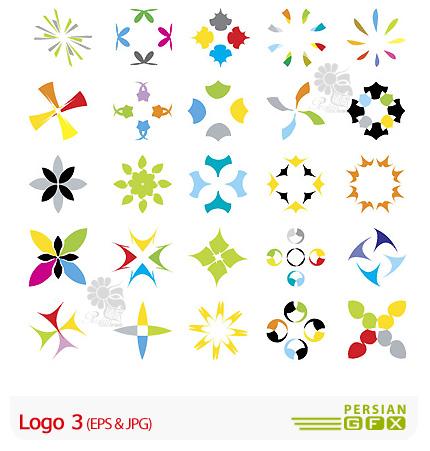 دانلود لوگو وکتور مدرن و انتزاعی - Logo 03