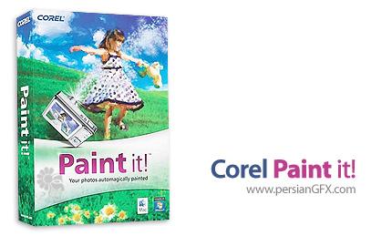 دانلود نرم افزار تبدیل عکس به نقاشی های منحصر به فرد - Corel Paint it 1.0.0.127