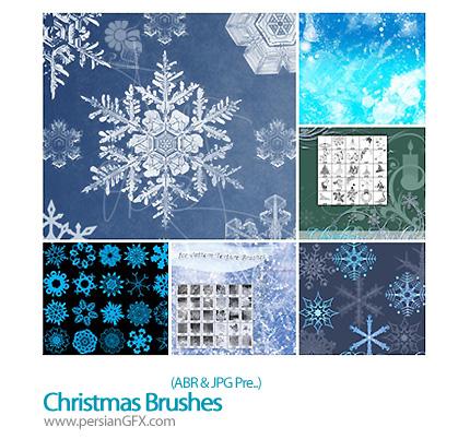 دانلود براش کریسمس، برف - Christmas Brushes