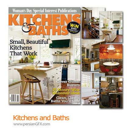 دانلود مجله طراحی دکوراسیون، آشپزخانه و حمام - Kitchens and Baths
