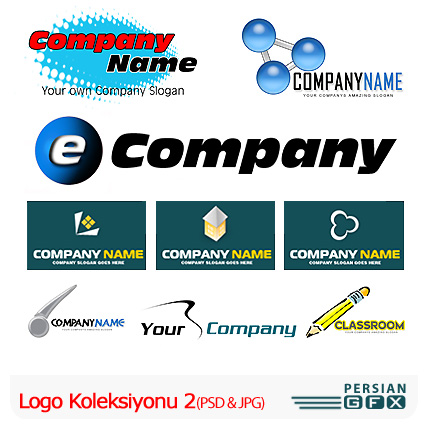 دانلود کلکسیون آرم و لوگو لایه باز - Logo Koleksiyonu 02