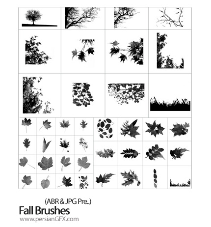 دانلود براش ایجاد پاییز - Fall Brushes