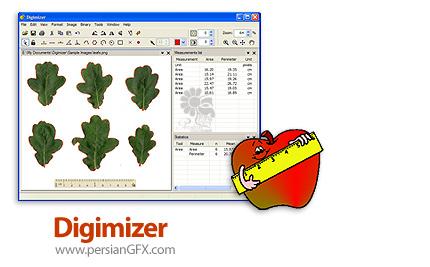 دانلود نرم افزار اندازه گیری دقیق اشیا موجود در تصاویر - Digimizer v5.3.5