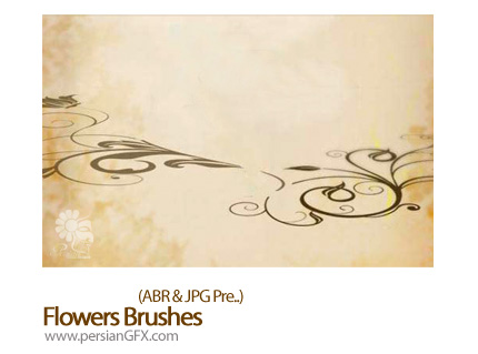 دانلود براش ایجاد گل - Flowers Brushes