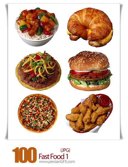 دانلود تصاویر فست فود - Fast Food 01