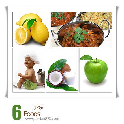 دانلود تصاویر مواد غذایی - Foods