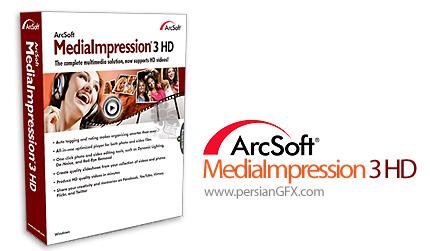 دانلود نرم افزار ساخت فیلم و اسلایدشو از عکس ها - ArcSoft MediaImpression 3 HD 3.5.0.1124