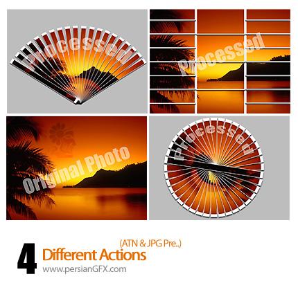 دانلود اکشن گوناگون نمایش تصویر - Different Actions