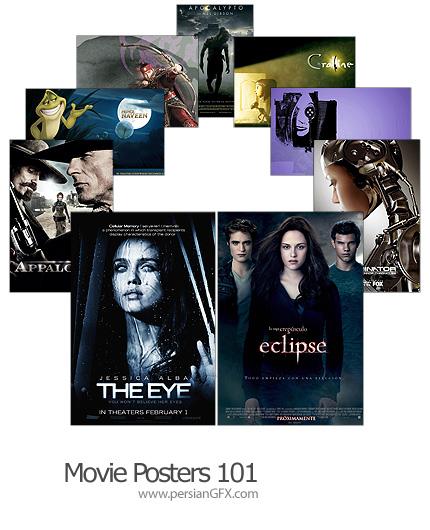 18 پوستر فیلم شماره صد و یک - Movie Posters 101