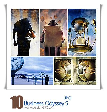 دانلود تصاویر تجاری زیبا ساعت شنی، عکس دیجیتالی - Business Odyssey 05
