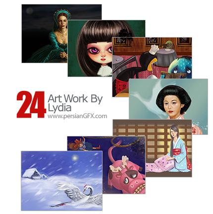 مجموعه آثار هنری، نقاشی مفهومی و مدرن - Art Work LydiaYan