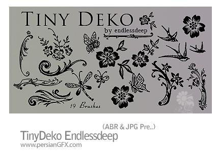 دانلود براش ایجاد گل - TinyDeko Endlessdeep