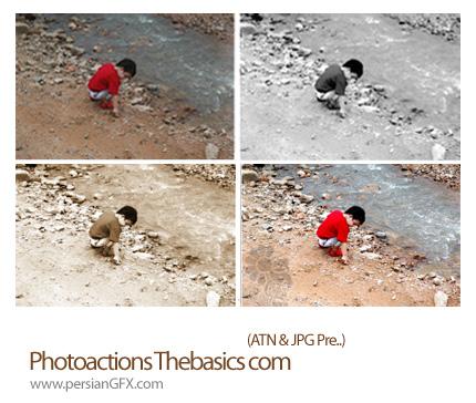 دانلود اکشن نمایش عکس با فیلترهای مختلف - Photo actions The basics com