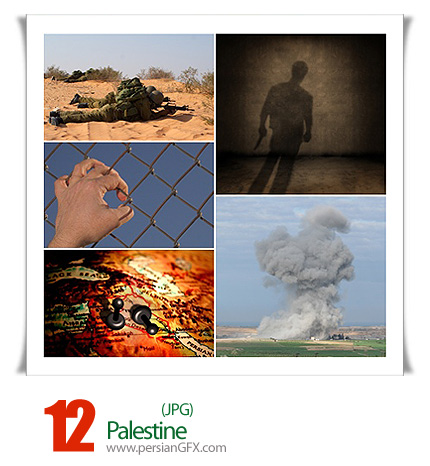دانلود تصاویر جنگ در فلسطین - Palestine