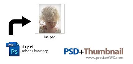 دانلود نرم افزار افزودن قابلیت نمایش Thumbnail فایل های فتوشاپ - PSD+Thumbnail 1.0
