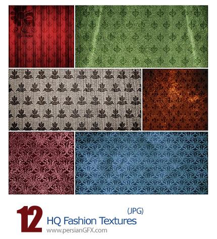 دانلود بافت گلدار - 12 HQ Fashion Textures