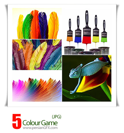 دانلود تصاویر رنگارنگ - Colour Game