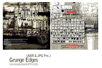 دانلود براش خراش کثیف - Grunge Edges