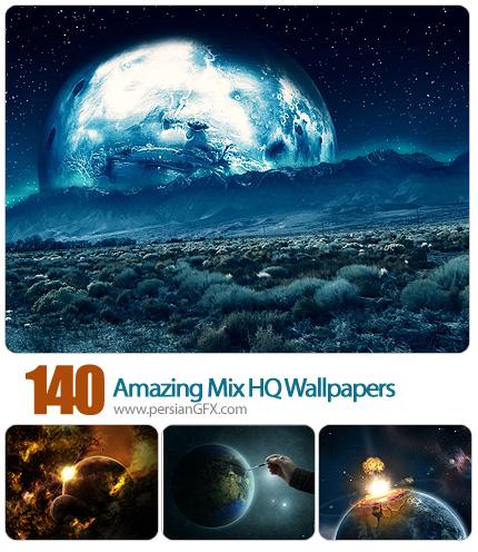 دانلود تصاویر والپیپر متنوع - 140 Amazing Mix HQ Wallpapers